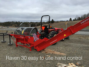 Complete Firewood processing package include tractor $442.38/M