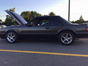 1989 MUSTANG 5.0 MINT CONDITION ONLY 56,618 KMS