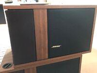 Vintage Bose 301 direct/reflecting speakers