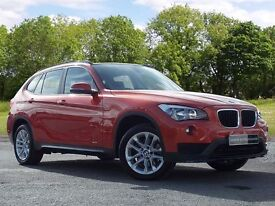 BMW X1 2.0 18d Sport xDrive 5dr (orange) 2014