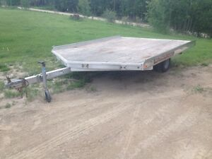 2014 aluma sled trailer atv