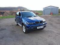 BMW X5 3.0d auto 2005MY Le Mans Blue Sport Edition
