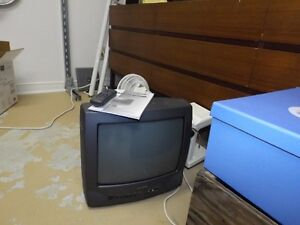 Daewoo colour TV, small