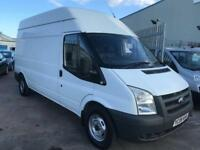 2008 08Ford Transit 2.4TDCi 350 LWB HIGH ROOF STUNNING CONDITION FOR YEAR NO VAT