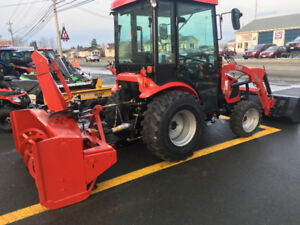 NEW 2017 TYM 234 TRACTOR AND SNOWBLOWER