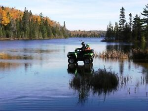Waterfront Cottage Rental - ATV/Snowmobile Adventure