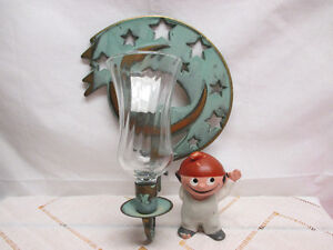 """PartyLite """"Moondance Sconce"""" with peglight"""