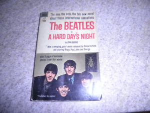 soft cover book The Beatles in A Hard day's Night