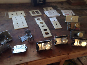 miscellaneous electrical,, sale as lot
