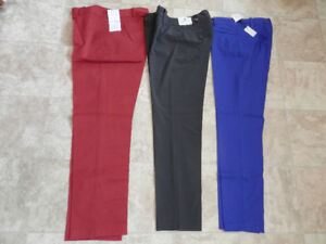 3 pairs of brand new pants (Cleo, Calvin Kline and Will Smith)