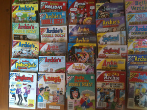 Archie Digest Library 34 books