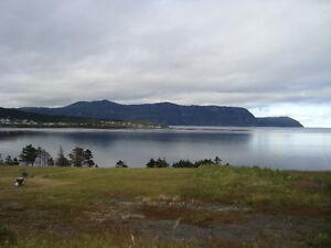1.36 Acre Ocean Front Land in Rocky Harbour
