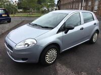 0707 Fiat Grande Punto 1.2 Active Grey 5 Door 61813mls MOT 1m