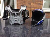 Kids motorbike / quad helmet