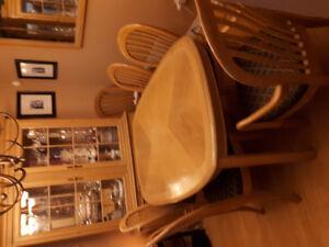 Moving Sale - Solid Oak Dining Set