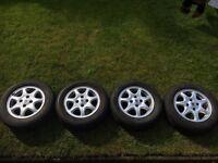 4 tyres + alloy wheels