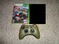 Hard to Find Xbox 360 Controller and Game