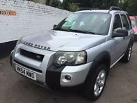 Land Rover freelander 1.8 left hand drive. Clean