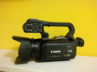 CANON XA20 WITH WIDE LENS CONVERSION, PACKAGE DEAL