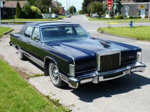 Lincoln Continental Collector's Series 1979