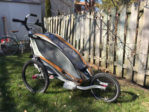 Used Chariot Cx1 Jogging and Bike Attachments