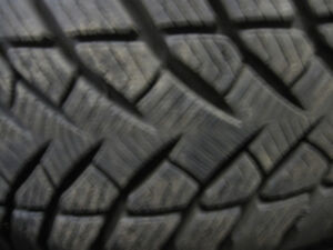 4 Winter tires Good Year 225/60R18 Dodge Charger Police back