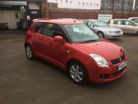 2008/08 Suzuki Swift 1.5 GLX 3dr h/b Keyless Entry/Start ONLY 1 Lady Owner