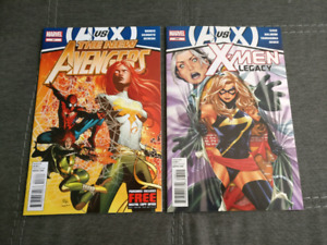 Xmen Legacy #269 and New Avengers #21