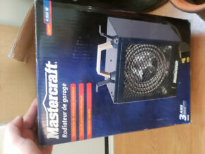 Mastercraft shop heater