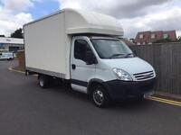 IVECO DAILY 35C12 LWB LUTON VAN WITH TAIL LIFT ONLY 38K FROM NEW NO VAT 2008