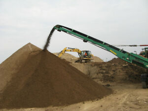 Screened Topsoil & Aggregates call John 519-465-0653