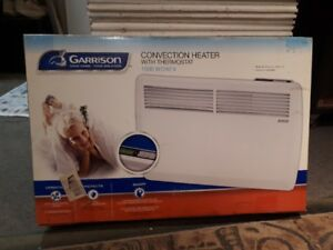 Baseboard Convection Heater with thermostat (brand new)