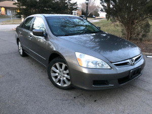 2007  Honda Accord V6 Safety Certified EX-L fully loaded