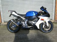 Suzuki GSXR 750 L1 Blue and White, superb bike