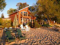 City Beach House Lake Nipissing (plus cottage)