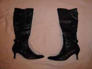"""Black knee high  boots """" reduced"""""""