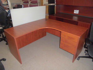 DESKS, WORKSTATIONS 60 X 60 CORNER WORKSTATIONS ONLY $389.99
