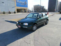 1996 Volkswagen Cabrio Automatic, Convertible,Leather, Certified