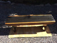 Beautiful rustic style bench