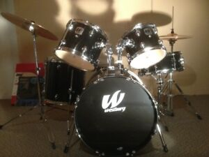 Westbury Drum Kit with Sabian Cymbals