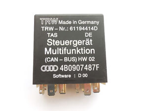 AUDI A6, S6 1998-2005 Multifunctional Control Unit 4B0907487F