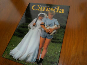 A Day in the Life of Canada - Hardcover Book