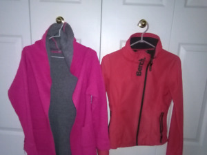Bench ladies jacket  and  sweater with hoodies and 2 pockets