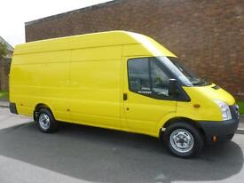 2012 Ford TRANSIT 350 H/R LWB 100ps JUMBO Van Manual Large Van