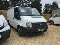 FORD TRANSIT 280 LR swbtdci 1owner full service history, White, Manual, Diesel,