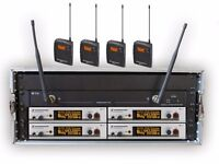 radio mic hire for stage theatre shows