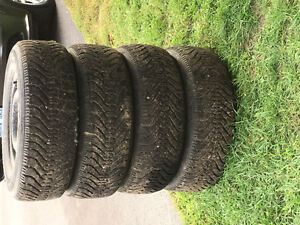 Goodyear Nordic Snowtires and Rims