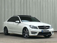 Mercedes-Benz C350 3.0CDI ( 261bhp ) Blue F ( M Pilot ) 7G-Tronic Plus 201 CDI