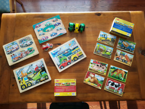 6  Melissa and Doug Puzzles for age 3+