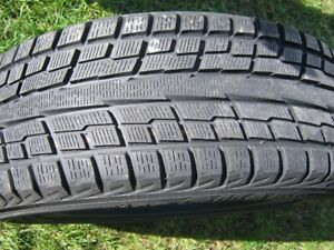 Yokohama Ice Guard ig51v winter tires on alloy rims